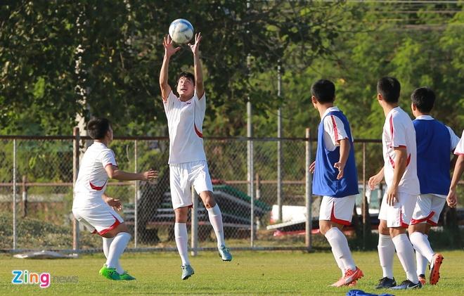 U23 Trieu Tien tap dut diem cho lach qua khe cua hep truoc Thai Lan hinh anh 5