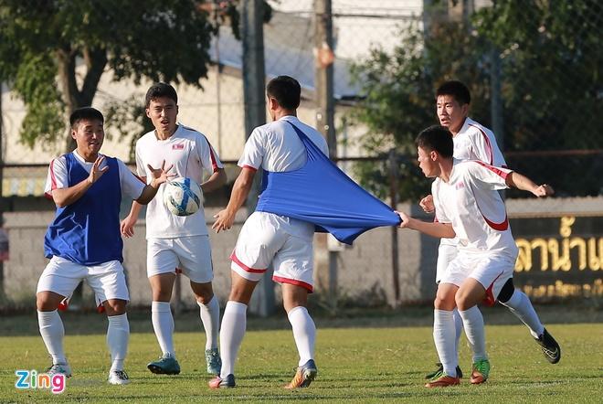 U23 Trieu Tien tap dut diem cho lach qua khe cua hep truoc Thai Lan hinh anh 6
