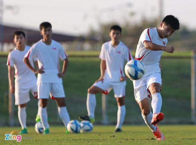 U23 Trieu Tien tap dut diem cho lach qua khe cua hep truoc Thai Lan hinh anh 7