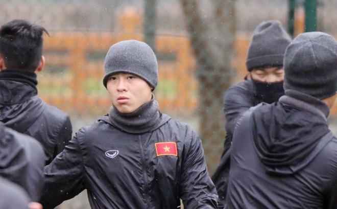 U23 Viet Nam gap kho khan vi thoi tiet o Trung Quoc hinh anh