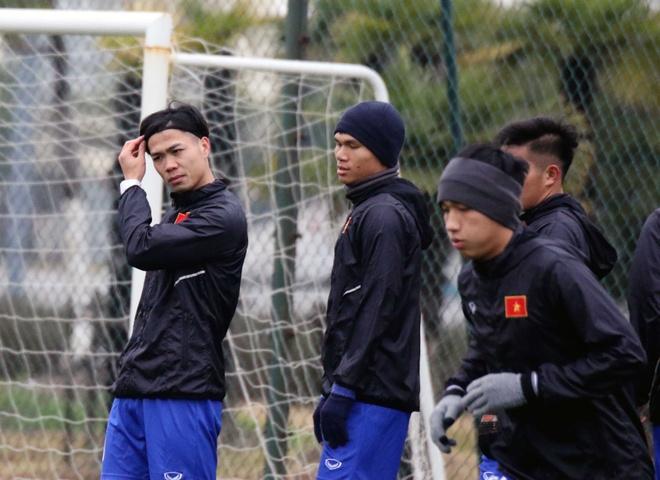 U23 Viet Nam tap luyen hang say truoc gio chot danh sach hinh anh 2