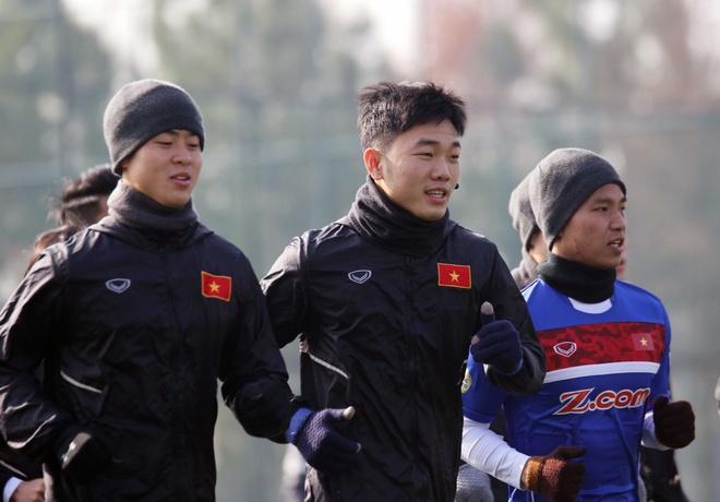 U23 Viet Nam chong ret o Trung Quoc, anh 1