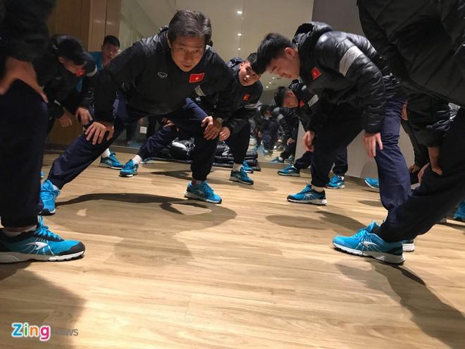 U23 Viet Nam chung khach san voi 3 doi thu tai bang D hinh anh 1