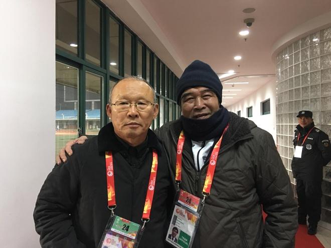 HLV Park Hang-seo khoc 2 lan sau tran U23 Viet Nam hoa Syria hinh anh 2