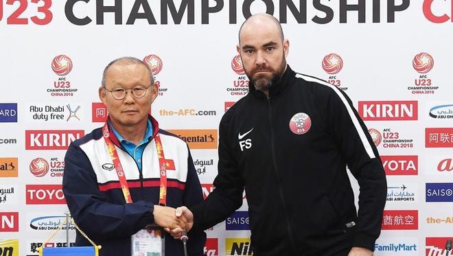 HLV U23 Qatar: 'U23 Viet Nam da day cho chung toi bai hoc' hinh anh 1