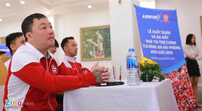 CLB Hai Phong co nha tai tro moi Asanzo, anh 1