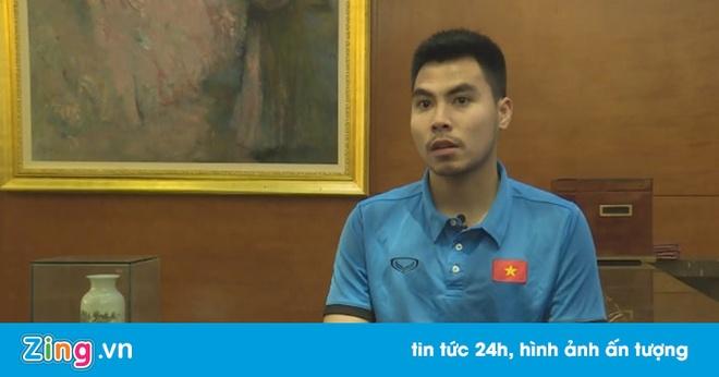 Duc Huy thua nhan cac cau thu U23 VN danh roi phong do o V.League hinh anh