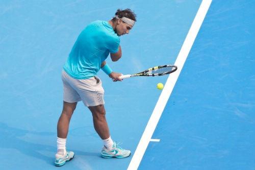 Nadal thường xuyên mất 25 giây giữa 2 lần giao bóng trong trận gặp Rosol.