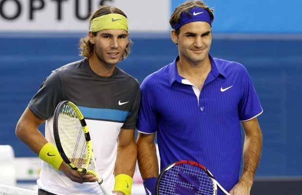 Hai tay vợt có tổng cộng 31 lần vô địch các giải Grand Slam.