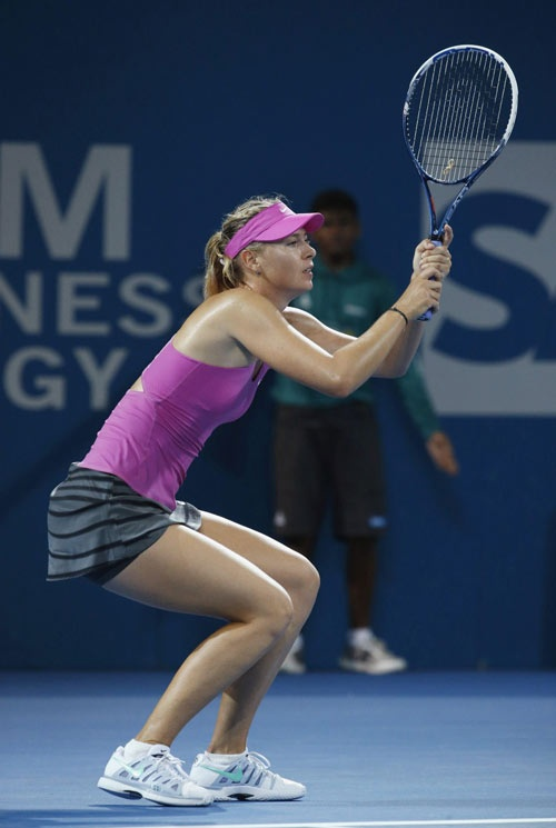 Sharapova bi Bouchard vuot o top tay vot nu sexy hinh anh 1 Maria Sharapova không còn vẻ tươi mới nhưng vẫn là nữ hoàng về quảng cáo trong làng tennis.