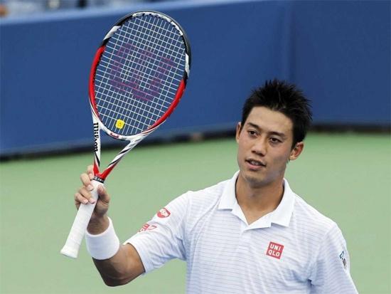 Bong hong giup Nishikori viet co tich o US Open hinh anh
