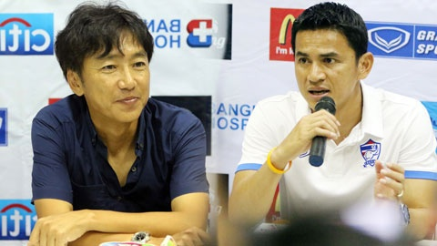 HLV Miura va Kiatisak deu than trong hinh anh 1 Cả 2 HLV Miura và Kiatisak của Thái Lan đều rất coi trọng vòng đấu loại này.