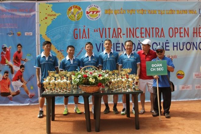 Nguoi Viet o Dong Au tu hop tai Nga du giai tennis hinh anh