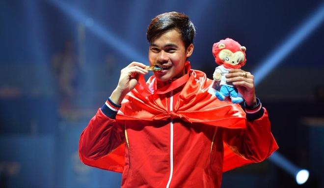 Tien Nhat, Thanh An gianh 2 HCV dau kiem o SEA Games hinh anh