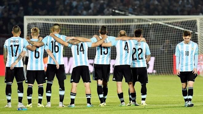 Argentina va noi am anh tren cham 11 m hinh anh