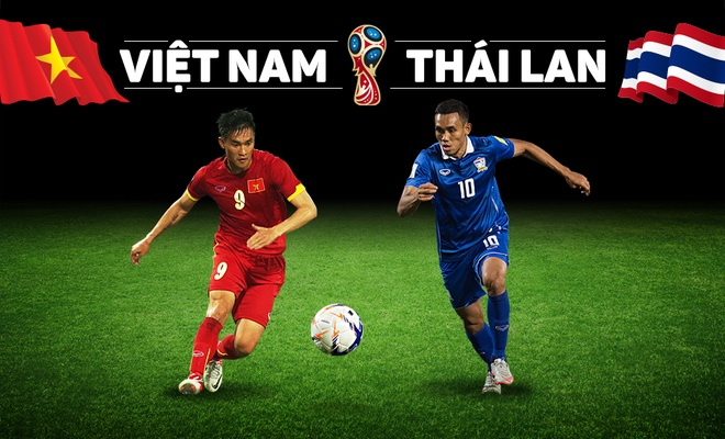 Cuoc dau khong khoan nhuong giua DT Viet Nam va Thai Lan hinh anh