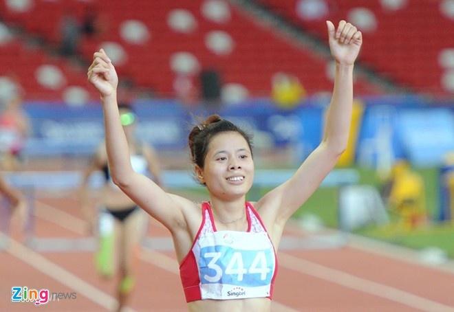 Nguyen Thi Huyen co nguy co mat ve du Olympic 2016 hinh anh 1