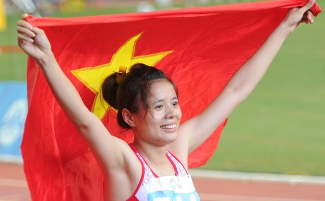 Nguyen Thi Huyen co nguy co mat ve du Olympic 2016 hinh anh