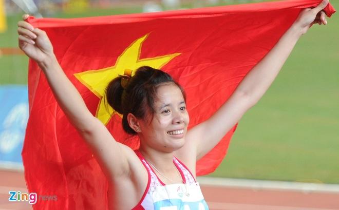 Nguyen Thi Huyen co nguy co mat ve du Olympic 2016 hinh anh 2
