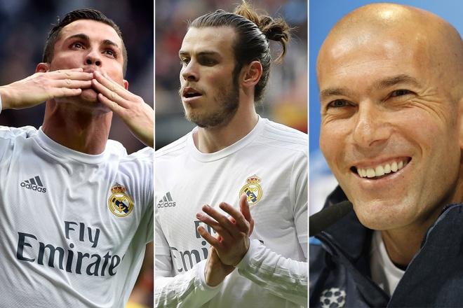 Ronaldo, Bale chao thua Zidane o Euro 2016 hinh anh