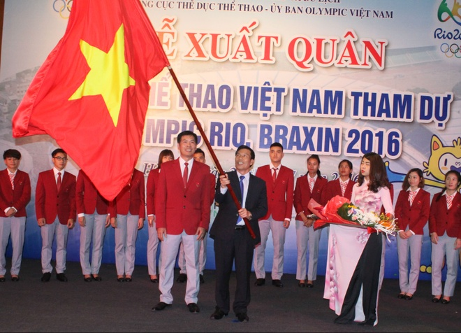 The thao Viet Nam quyet gianh huy chuong Olympic 2016 hinh anh 1