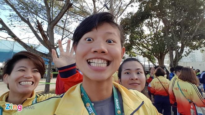 Co mot Anh Vien sieu quay o Olympic Rio hinh anh 1