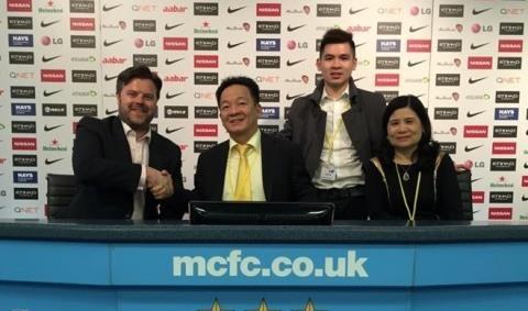 Manchester City muon du dau o Viet Nam anh 1