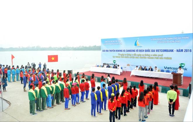 Vinh Phuc dan dau giai VDQG canoeing 2016 anh 1