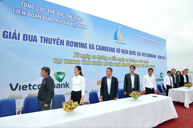 Vinh Phuc dan dau giai VDQG canoeing 2016 anh 2
