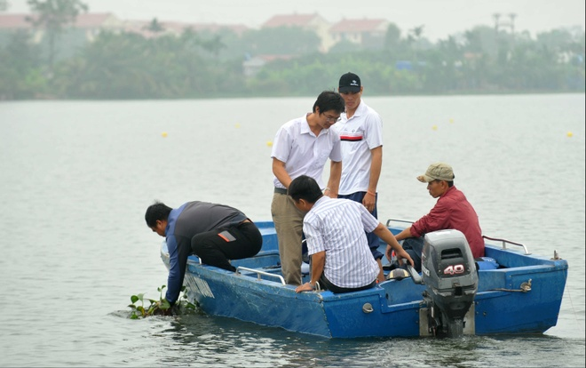 Vinh Phuc dan dau giai VDQG canoeing 2016 anh 4