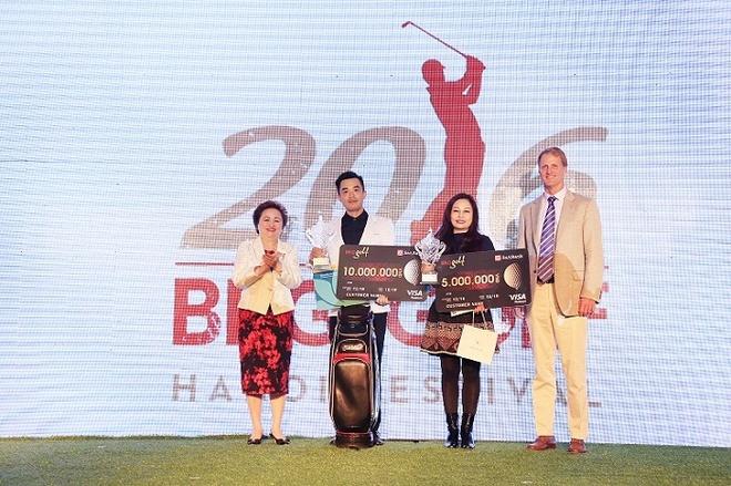 Giai golf Hanoi Festival 2016 tim duoc 2 nha vo dich moi hinh anh 1