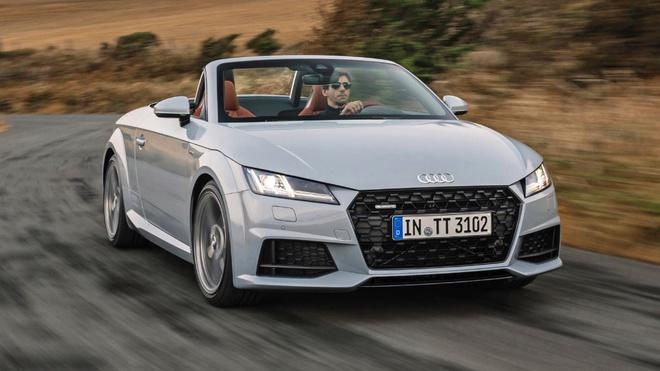 Audi TT '20 Years Edition' gioi han 999 chiec, ban ra dau 2019 hinh anh