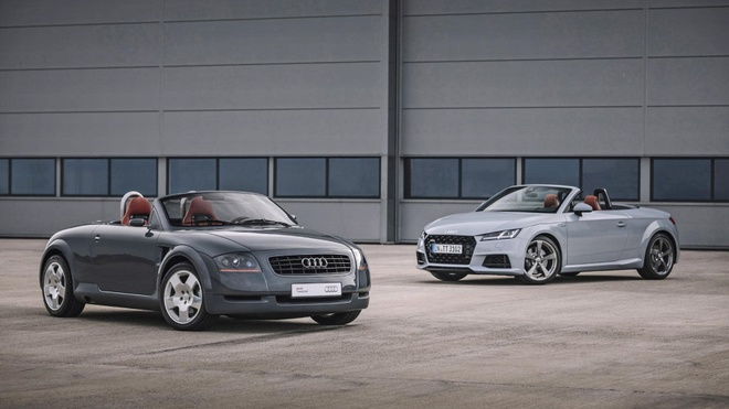Audi TT '20 Years Edition' gioi han 999 chiec, ban ra dau 2019 hinh anh 2