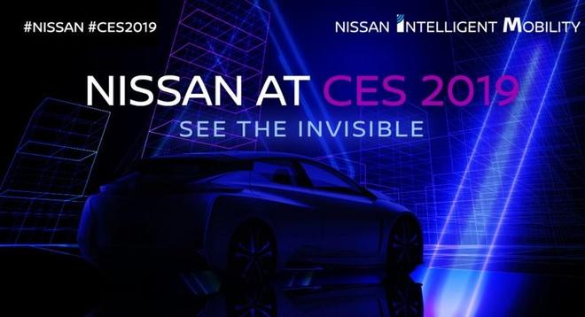 Nissan se mang mot mau xe hoan toan moi toi CES 2019 hinh anh 2