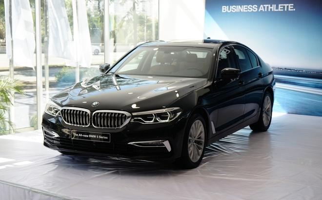 BMW 5-Series the he 7 ra mat tai VN, gia tu 2,4 ty hinh anh