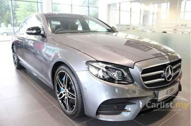 Mercedes-Benz E-Class dong co moi sap ra mat VN hinh anh