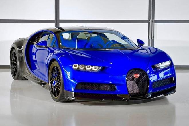 Chiec Bugatti Chiron Sport dau tien da chao doi hinh anh 1