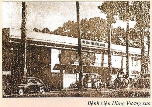 Bao sanh vien Hung Vuong thanh Benh vien Hung Vuong hinh anh