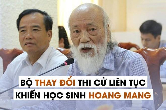'Bo GD&DT thay doi lien tuc khien hoc sinh hoang mang' hinh anh 1