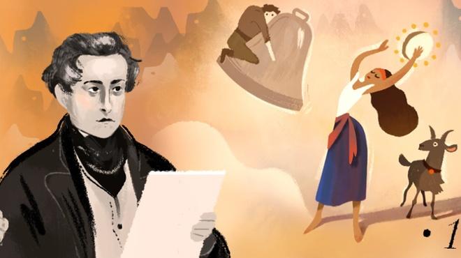 Victor Hugo len Doodle cua Google nhan su kien gi? hinh anh 2