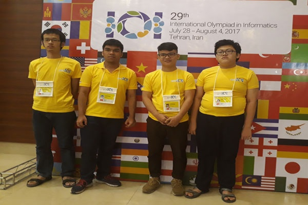Viet Nam gianh 3 huy chuong Olympic Tin hoc quoc te hinh anh 1