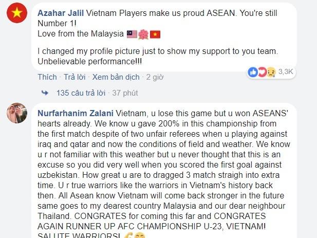 Cong dong mang Uzbekistan kham phuc tinh than cua U23 Viet Nam hinh anh 2