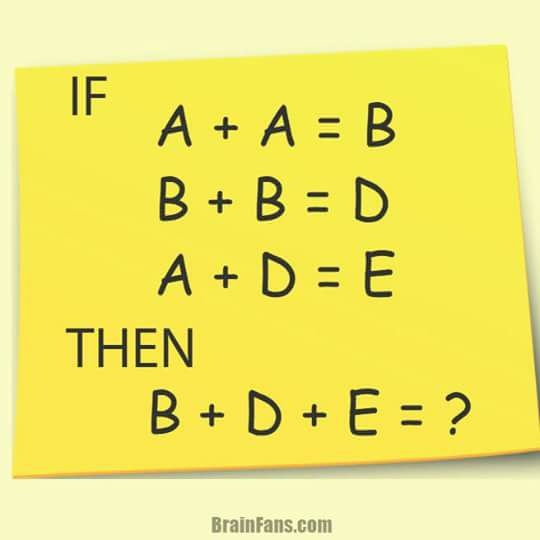 Ban mat bao lau de tinh B + D + E = ? hinh anh 1