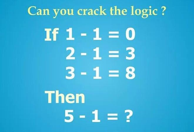 1 - 1 = 0 vay 5 - 1 bang bao nhieu? hinh anh 1