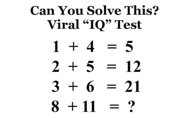 Neu 1 + 4 = 5, 8 + 11 = ? hinh anh
