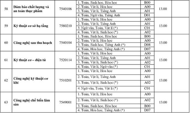 DH Hue cong bo diem chuan 2018 cua 11 truong thanh vien hinh anh 13