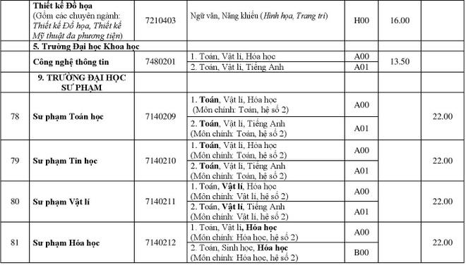 DH Hue cong bo diem chuan 2018 cua 11 truong thanh vien hinh anh 17