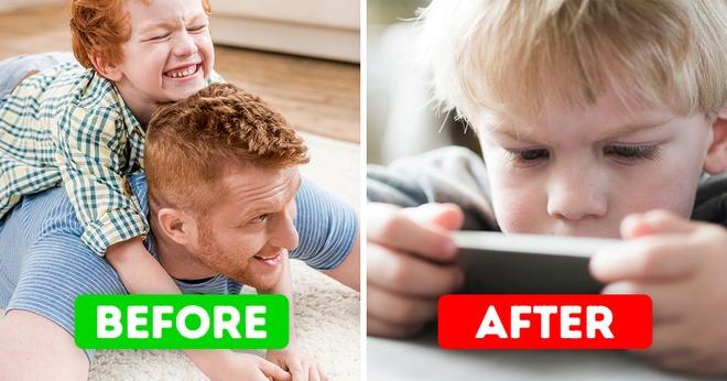 9 tac hai khon luong khi phu huynh cho con choi smartphone hinh anh 1