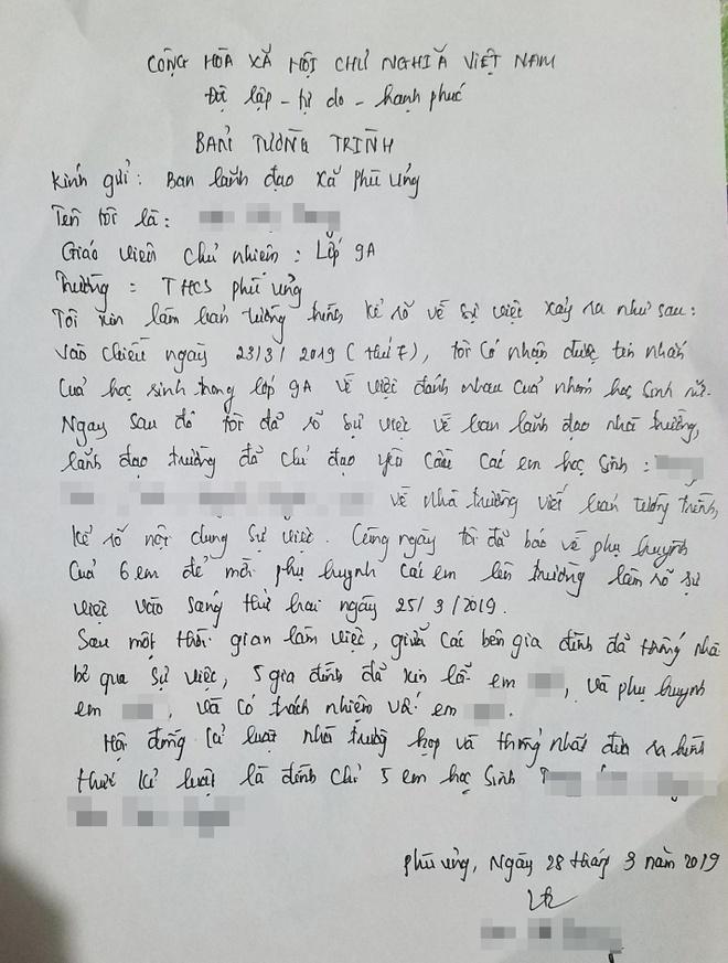 Vu nu sinh bi danh hoi dong o Hung Yen: 'Nha truong lua chung toi' hinh anh 2