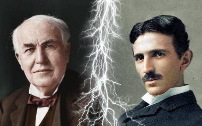 Tesla va Edison: Thien tai nao vi dai hon? hinh anh